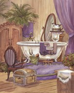Victorian Bathroom I Art