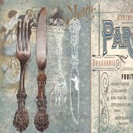 Fine Dining I  Fine Art Print