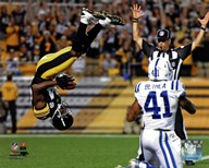 Antonio Brown 2012  Fine Art Print