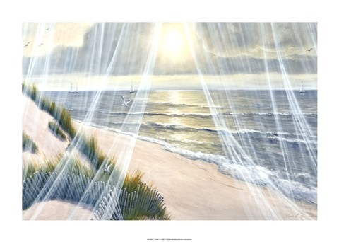 Framed Soft Breeze Print