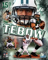 Tim Tebow 2012 Portrait Plus  Fine Art Print