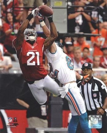 Framed Patrick Peterson 2012 Action Print