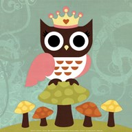 Princess Owl  Fine Art Print