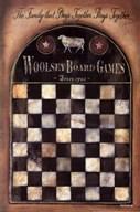 Woolsey Board Game  Fine Art Print