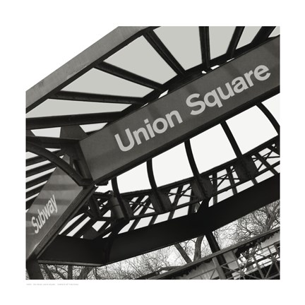 Framed Union Square Subway, NYC Print