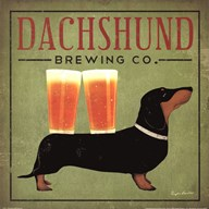 Dachsund Brewing Co.  Fine Art Print