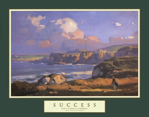 Framed Success-Irish Links Print