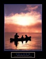 Values-Fishing  Fine Art Print