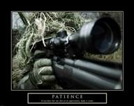 Patience - Military Man  Fine Art Print