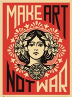 Make Art Not War Art