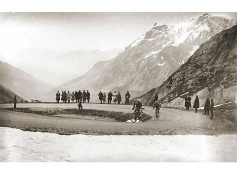 Framed Snow on the Galibier, 1924 Print