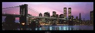 Brooklyn Bridge and New York City Skyline Art