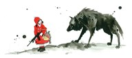 Red Riding Hood  Fine Art Print