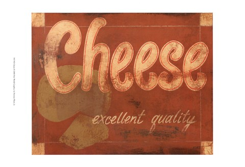 Framed Cheese Print