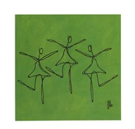 Love - Green Dancers Art