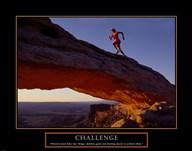 Challenge-Runner  Fine Art Print