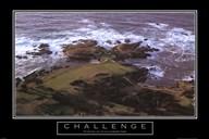 Challenge-Golf  Fine Art Print