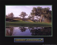 Achievement-Golf  Fine Art Print