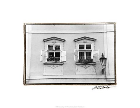 Framed Glimpses of Prague VI Print