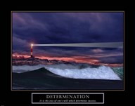 Determination-Lighthouse  Fine Art Print