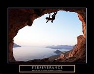Perseverance-Cliffhanger  Fine Art Print