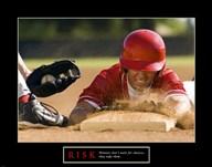 Risk-Baseball  Fine Art Print