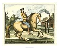 Equestrian Training I  Fine Art Print