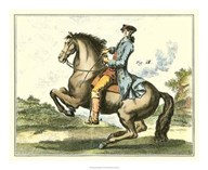Equestrian Training IV  Fine Art Print