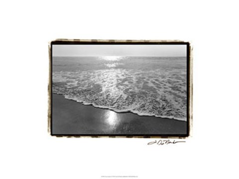 Framed Ocean Sunrise I Print