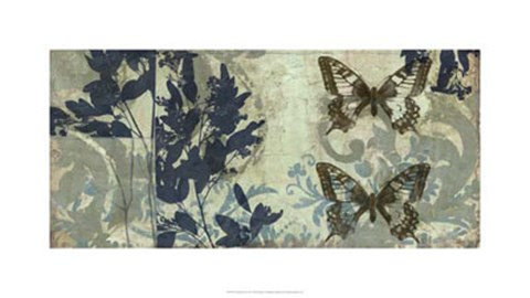 Framed Butterfly Reverie II Print