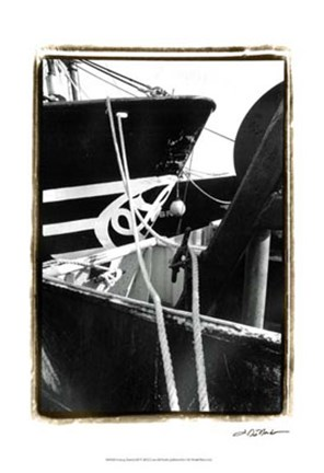 Framed Fishing Trawler III Print