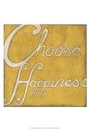 Choose Happiness  Fine Art Print