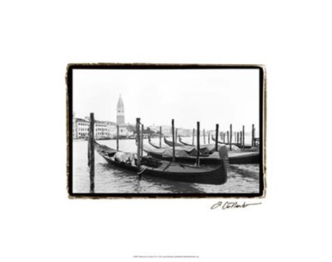 Framed Waterways of Venice XV Print