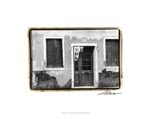Framed Doors of Venice VII Print