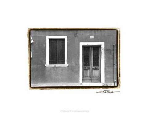 Framed Doors of Venice VIII Print