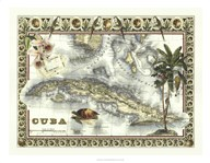 Map of Cuba