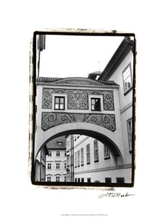 Framed Splendors of Prague III Print