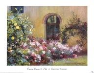 Tuscan Lemons And Pink Art