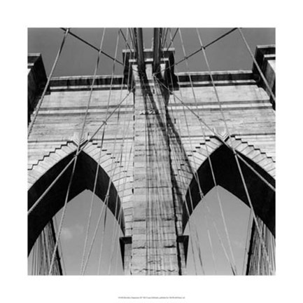 Framed Brooklyn Suspension III Print