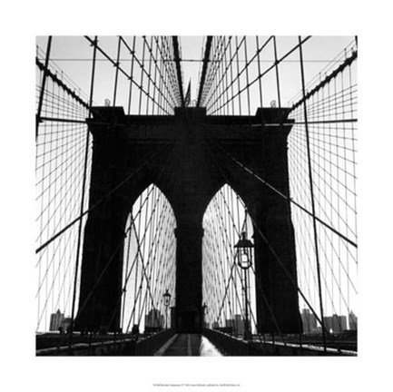 Framed Brooklyn Suspension IV Print