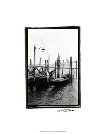 Framed Waterways of Venice IV Print