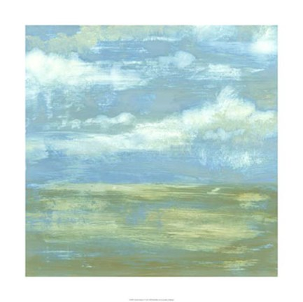 Framed Cloud Striations I Print