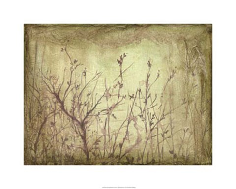 Framed Dancing Branches II Print