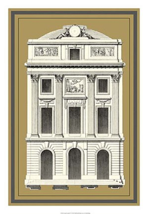 Framed Grand Facade IV Print