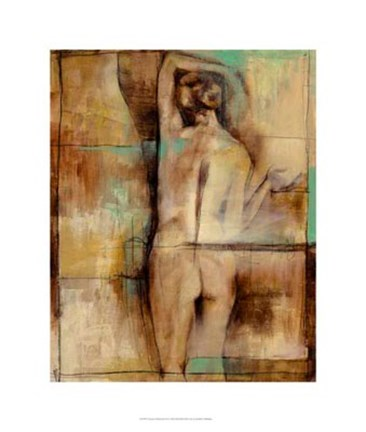 Framed Abstract Proportions III Print