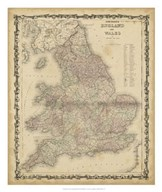 Johnson&#39;s Map of England &amp; Wales