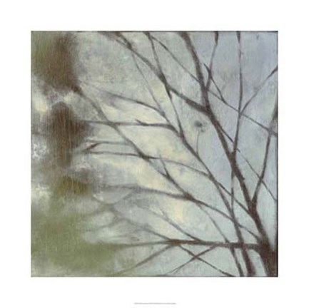 Framed Diffuse Branches I Print