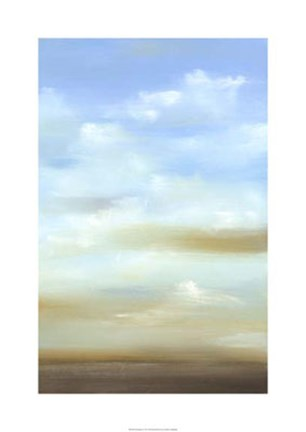 Framed Skyscape II Print