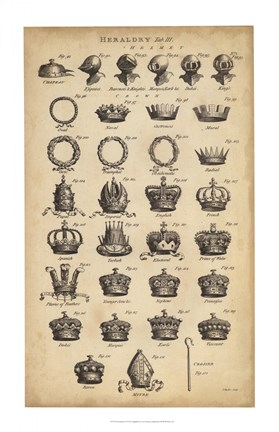 Framed Encyclopediae IV Print
