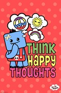 So So Happy - Happy Thoughts  Wall Poster
